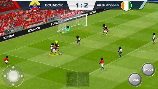 screenshot of 2019 Football Fun - Fantasy Sports Strike Games version 1.1.2