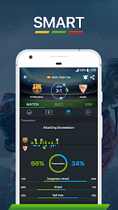 screenshot of 365Scores - Live Scores version 6.1.1