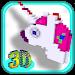 Download 3D Unicorn Color by Number Pixel Art Coloring book 3.0 APK