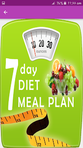 Download 7 Day Diet Meal Plan ? and Recipes 1.1 APK