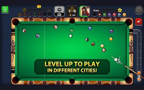 screenshot of 8 Ball Pool version 3.7.4