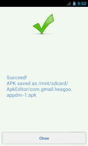 screenshot of APK Editor version 1.8.15