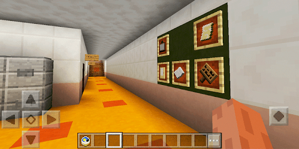 screenshot of Academy High School. Map for MCPE version 1.0.0