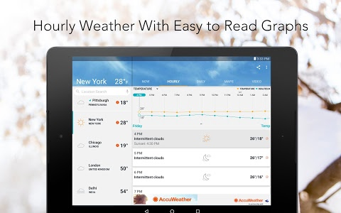 Download AccuWeather: Daily Forecast & Live Weather Maps  APK