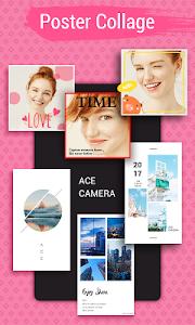 screenshot of Ace Camera - Photo Editor, Collage Maker, Selfie version 1.0.3.1006