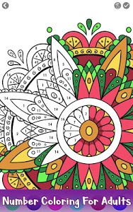 Download Adult Color by Number Book - Paint Mandala Pages 2.4 APK