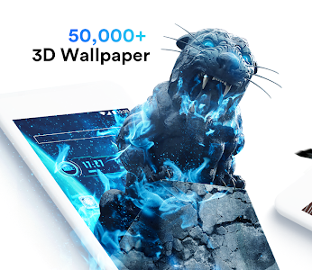 screenshot of Air Launcher-Themes, 3D Wallpaper for Android Free version 1.4.10