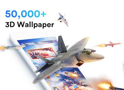 screenshot of Air Launcher - Theme & 3D Wallpaper, Fast version 1.6.6