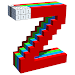 Download Alphabets 3D Color by Number - Voxel Coloring 2.1 APK
