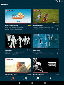 screenshot of Amazon Fire TV version Varies with device