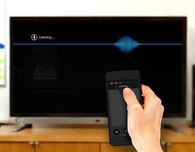 screenshot of Amazon Fire TV Remote App version 1.0.10.02