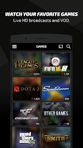 screenshot of Azubu TV version 1.8.8.49