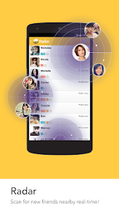 screenshot of BeeTalk version 2.2.7