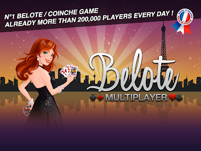 screenshot of Belote Multiplayer version 1.6.1