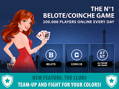 screenshot of Belote Multiplayer version Varies with device