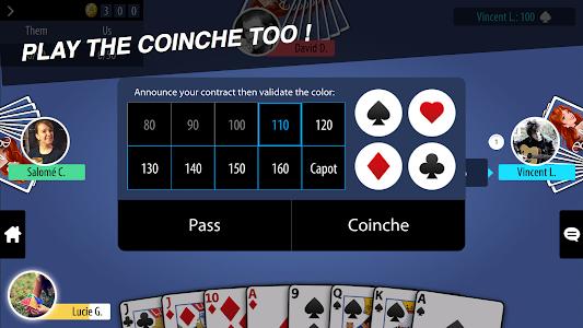 screenshot of Belote Multiplayer version 1.3.0