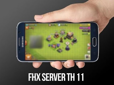 screenshot of Best FHX Server COC Pro version 1.2