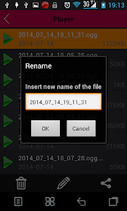 screenshot of Voice recorder version 2.24.3068.03