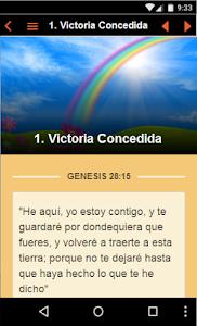 screenshot of Biblia de Promesas version 0.0.11