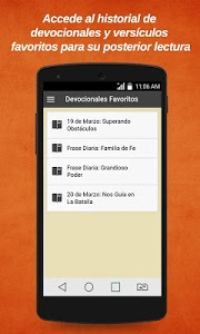 screenshot of Devocional y Versos de La Biblia version 1.0.15