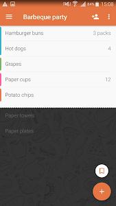 Download Shopping List - Buy Me a Pie! 3.5.12 APK
