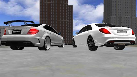 screenshot of C63 Driving Simulator version 5.0