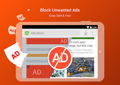 screenshot of CM Browser - Ad Blocker , Fast Download , Privacy version 5.22.19.0003