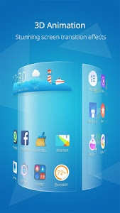 screenshot of CM Launcher 3D-Theme,Wallpaper version 3.29.3