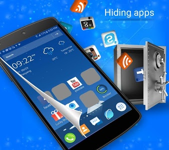 screenshot of CM Launcher 3D -Free Theme & Live Wallpapers version 3.54.2