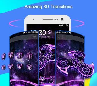 screenshot of CM Launcher 3D - Theme,wallpaper,Secure,Efficient version 5.8.1