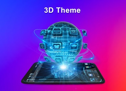 screenshot of CM Launcher 3D - Theme, Wallpapers, Efficient version 5.37.2