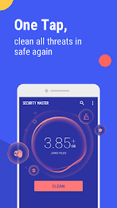 screenshot of Security Master - Antivirus, VPN, AppLock, Booster version Varies with device