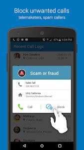 screenshot of Caller ID & Number Locator version 6.0