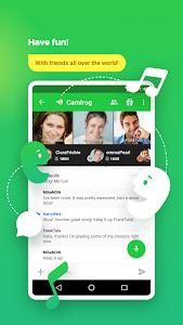 screenshot of Camfrog - Group Video Chat version 6.6.22