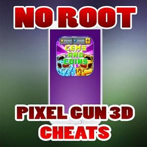 Download Cheats For Pixel Gun 3D No Root prank 1.0 APK