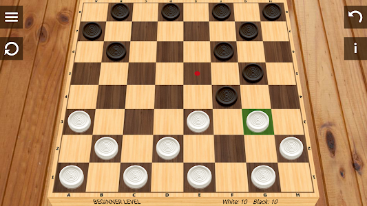 screenshot of Checkers version 3.8.4
