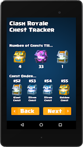 screenshot of Chest Tracker version 3.5