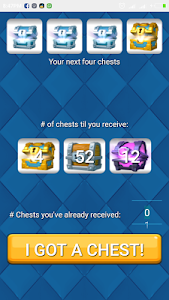 screenshot of Chest Tracker for Clash Royale version 1.0.1