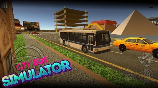 screenshot of City Bus Simulator version 2.0