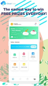Download Cloud Cash - Play & Win Free Cash 1.0.7 APK