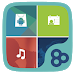 Download Color Box GO Live Theme (Blue) 1.0 APK