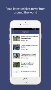 screenshot of Cricket Line Guru : Fast Live Line version 1.7