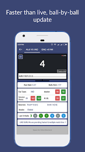 screenshot of Cricket Line Guru : Fast Live Line version 1.7