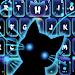 Download Neon Stalker Cat Keyboard Theme 1.0 APK