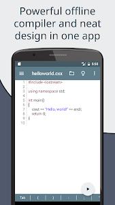 Download Cxxdroid - C++ compiler IDE for mobile development 1.11 APK