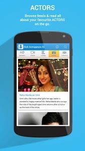 screenshot of Zee TV version 9.1.0