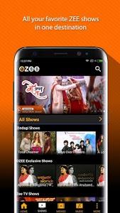screenshot of OZEE Free TV Shows Movie Music version 11.2.64