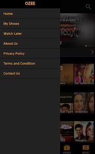 screenshot of OZEE - Entertainment Now version 11.1.8