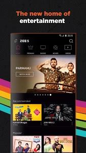 screenshot of ZEE5 - Movies, TV Shows, LIVE TV & Originals version 11.2.96