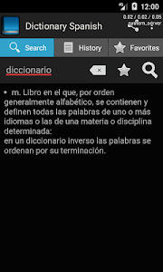 Download Spanish dictionary 1.7.21 APK